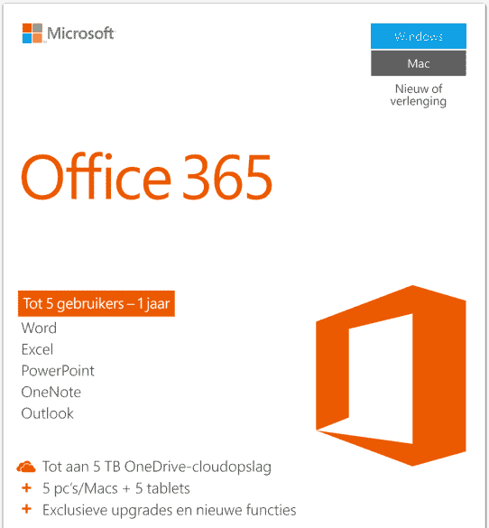 Office 365 home cover – licentie shop