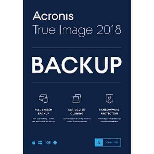 Acronis 2018 voorkant – licentie shop