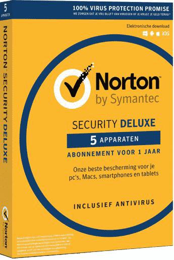 Norton-security-deluxe 5 apparaten