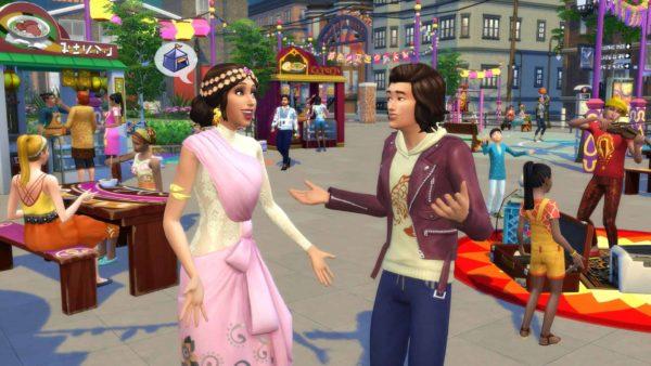 Sims 4 stedelijk leven plaatje 1