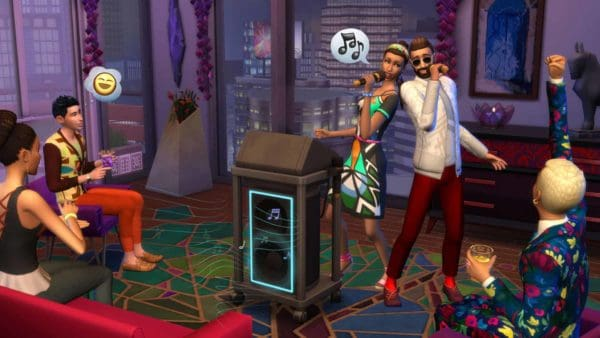 Sims 4 stedelijk leven plaatje 2