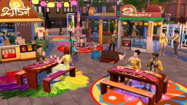 Sims 4 stedelijk leven plaatje 4