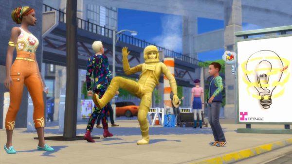 Sims 4 stedelijk leven plaatje 5