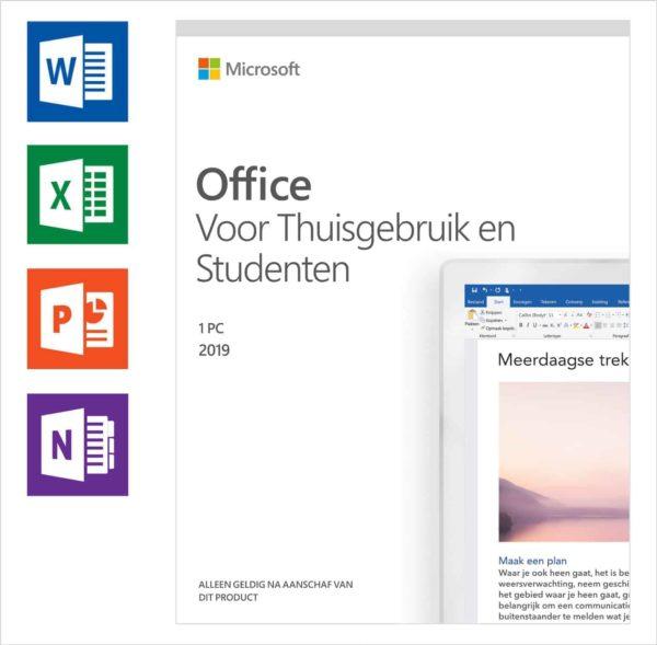 Office 2019 voor thuisgebruik en studenten windows