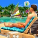 Sims 4 eiland leven relax