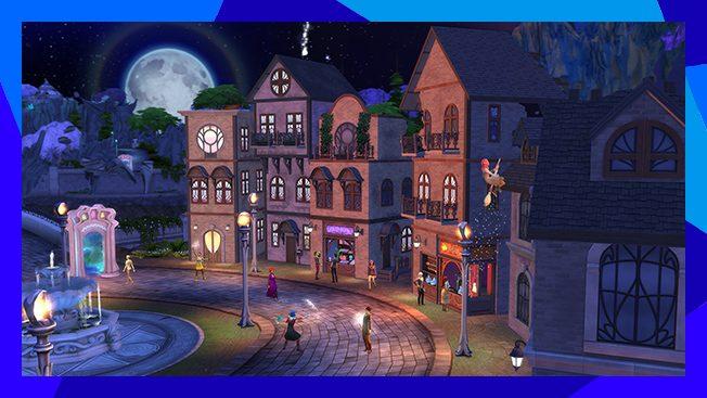 Sims 4 magisch rijk